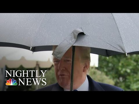 Trump Blasts Democrats For Holding Hearing While He's At NATO Summit | NBC Nightly News