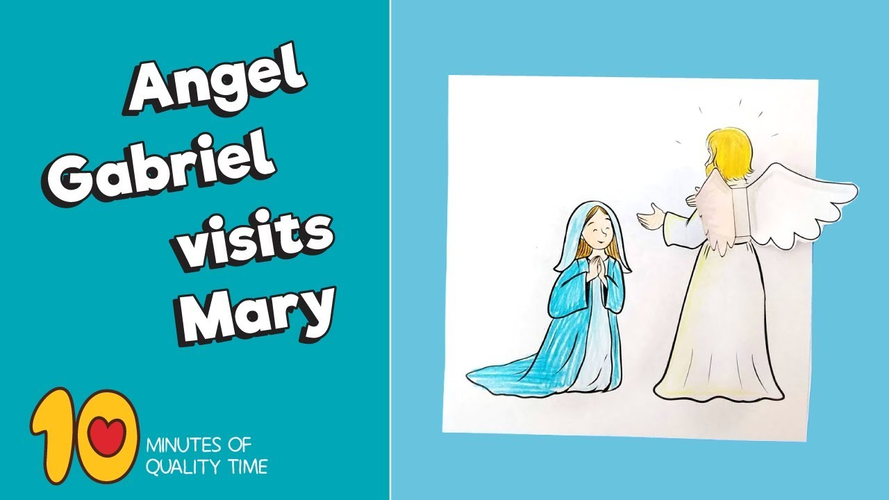 angel gabriel and mary | Christmas sunday school, Sunday school ... | 720x1280