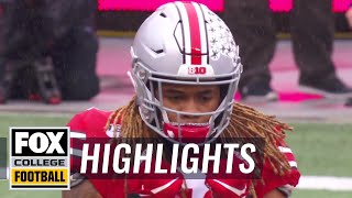Ohio State's Chase Young dominates vs. Wisconsin offense in first half | HIGHLIGHTS | CFB ON FOX