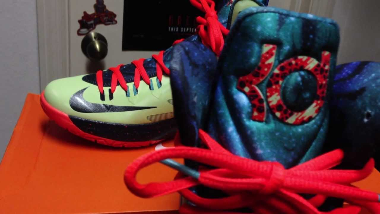 0232375e001a KD V Area 72- All-Star Game Nike sneaker review and unboxing- On feet at  end! - YouTube