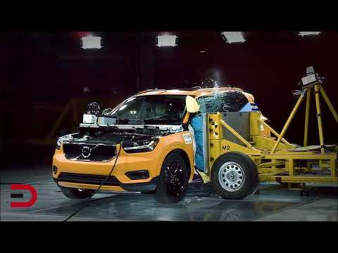 2019 Volvo XC40: Crash Test Footage Inside and Out on Everyman Driver