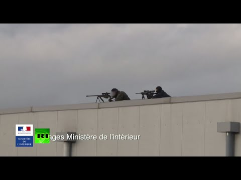 French anti-terror action: Fresh images of operations against gunmen released