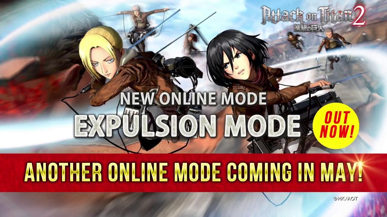 Attack on Titan 2 - Expulsion Mode Trailer