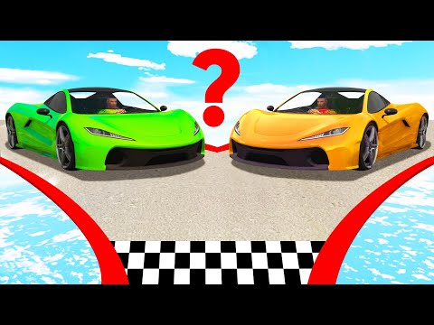 Only ONE Car Will FIT! (GTA 5 Funny Moments)