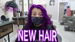 GETTING MY NEW HAIR STYLE! HOW TO CARE FOR CURLY HAIR! EMMA AND ELLIE