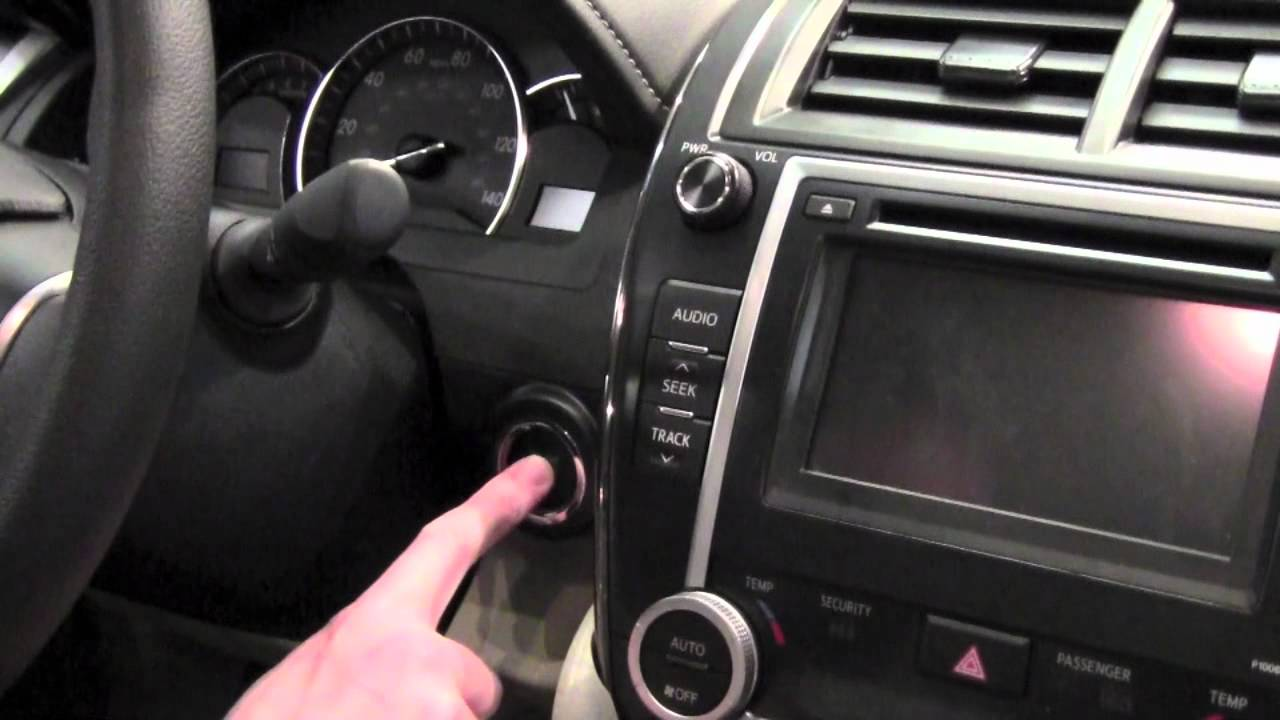 2012 | Toyota | Camry | Accessory Mode | How To By Toyota City ...