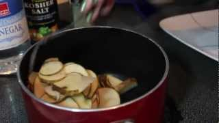 Salt And Vinegar Potato Chips | 3 Minute Kitchen