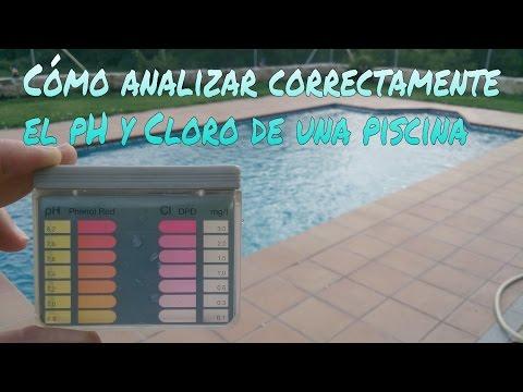 C mo analizar correctamente el ph y cloro libre de tu for Como mantener una piscina limpia