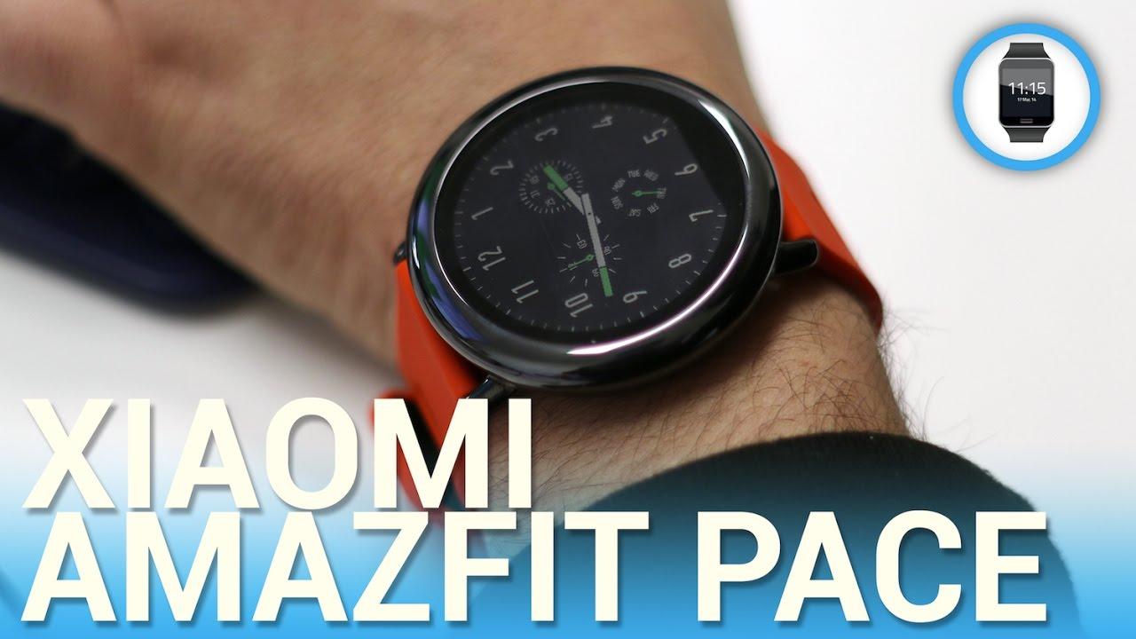 Xiaomi Amazfit Pace Recensione In Italiano Youtube