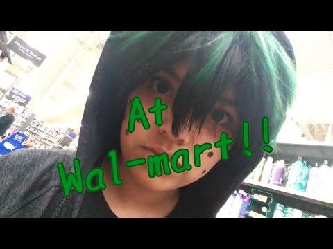 Walmart!!~Bnha Cosplay(Izuku Midoriya)