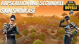 "Fortnite:Battle Royale ""Scoundrel"" and ""Rapscallion"" Skin Gameplay - New Fortnite Skins Showcase"