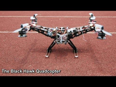 BlackHawk Quadcopter Revealed