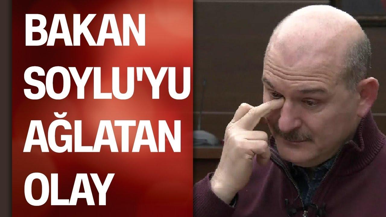 Bakan Süleyman Soylu'yu Elazığ'da ağlatan olay...