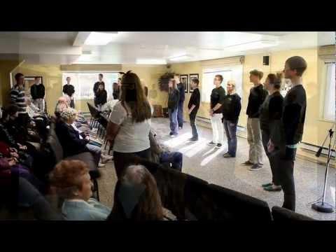 Calvin Christian School visits Parkview Christian Retirement Community