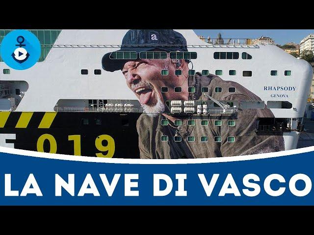 La nave di Vasco - GNV Rhapsody (NonStopLive2019)