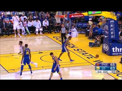 Golden State Warriors vs Phoenix Suns Full Game Highlights / April 1 / 2017 18 NBA Season
