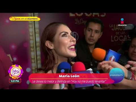 ¡María León confiesa si sostiene una relación con Carlos Ferro! | Sale el Sol
