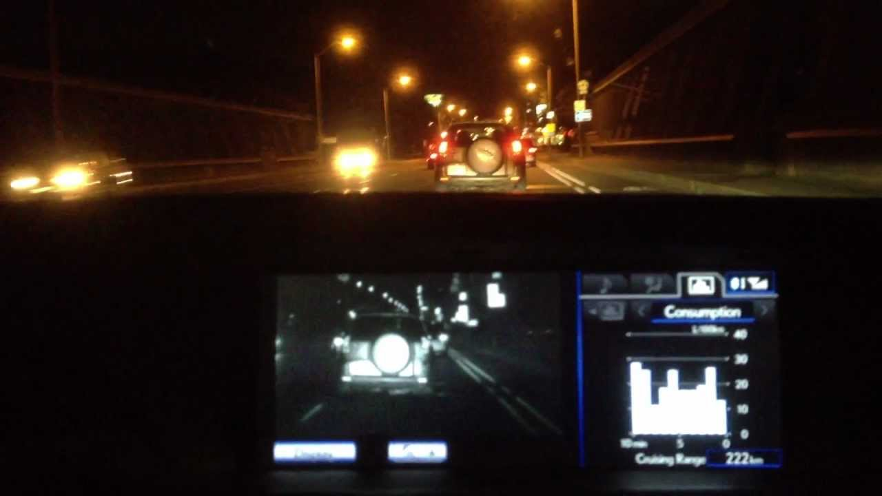 Lexus GS Nightview Night Vision System - YouTube Lexus Enthusiast