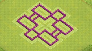 Clash of Clans Town Hall 6 Defense (CoC TH6) BEST Farming Base Layout Defense Strategy