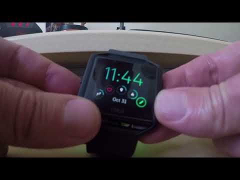 How to Reset / Restart your Fitbit Blaze in 30 seconds
