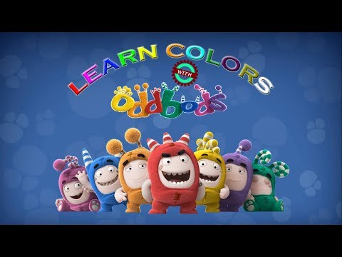 Learn COLORS With ODDBODS | WRONG SLOTS Oddbods | Jeff, Newt, Bubbles, Zee, Fuse, Pogo, Slick