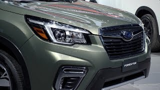 Forester: 2018 New York International Auto Show