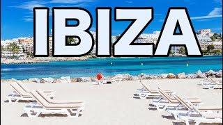 Ibiza Beach and Old Town Walking Around