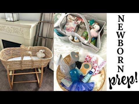 PREPARING YOUR HOME FOR NEWBORN + NEWBORN ESSENTIALS