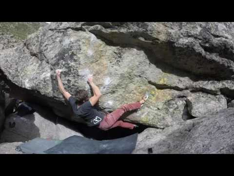 climbing video of Will Anglin Dismantling the Enemy V12