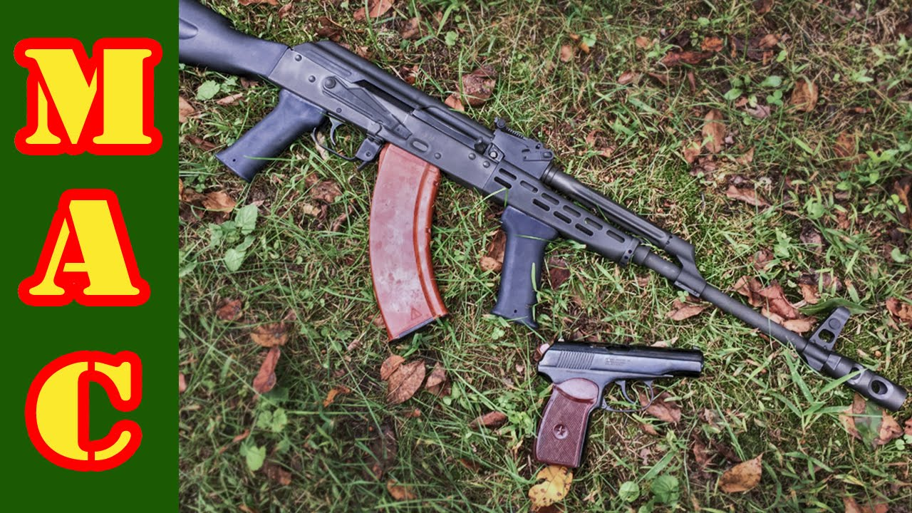 Classic Firearms AMD-63 and Bulgarian Makarov