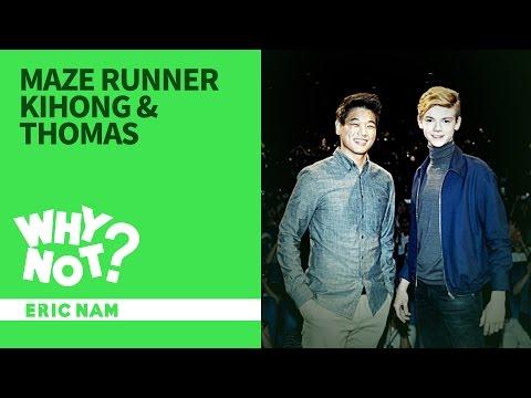 [와이낫] 메이즈러너 이기홍 & 토마스를 만나다 l THE MAZE RUNNER Kihong & Thomas Interview in Seoul X Eric Nam