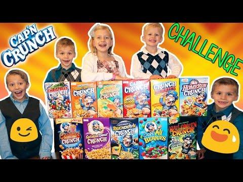 Cap'n Crunch Cereal Challenge