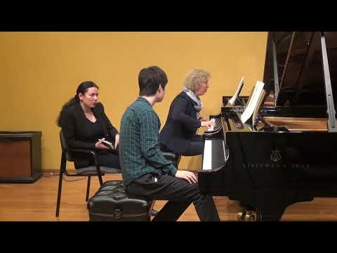23.02.2018 Mira Marchenko's master-classes. Sihao Qin. Schmitt Music, Kansas City, USA.
