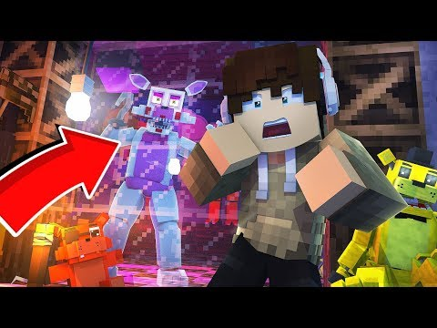 JE DOIS CAPTURER PRE-MANGLE ! ( SURVIE FNAF Minecraft )