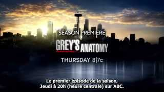 Grey's Anatomy Saison 12 Trailer VOSTFR