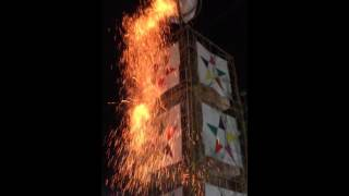 Castillo Volador fiestas en honor al niño divino Cohetero Coyula Jalisco 2016