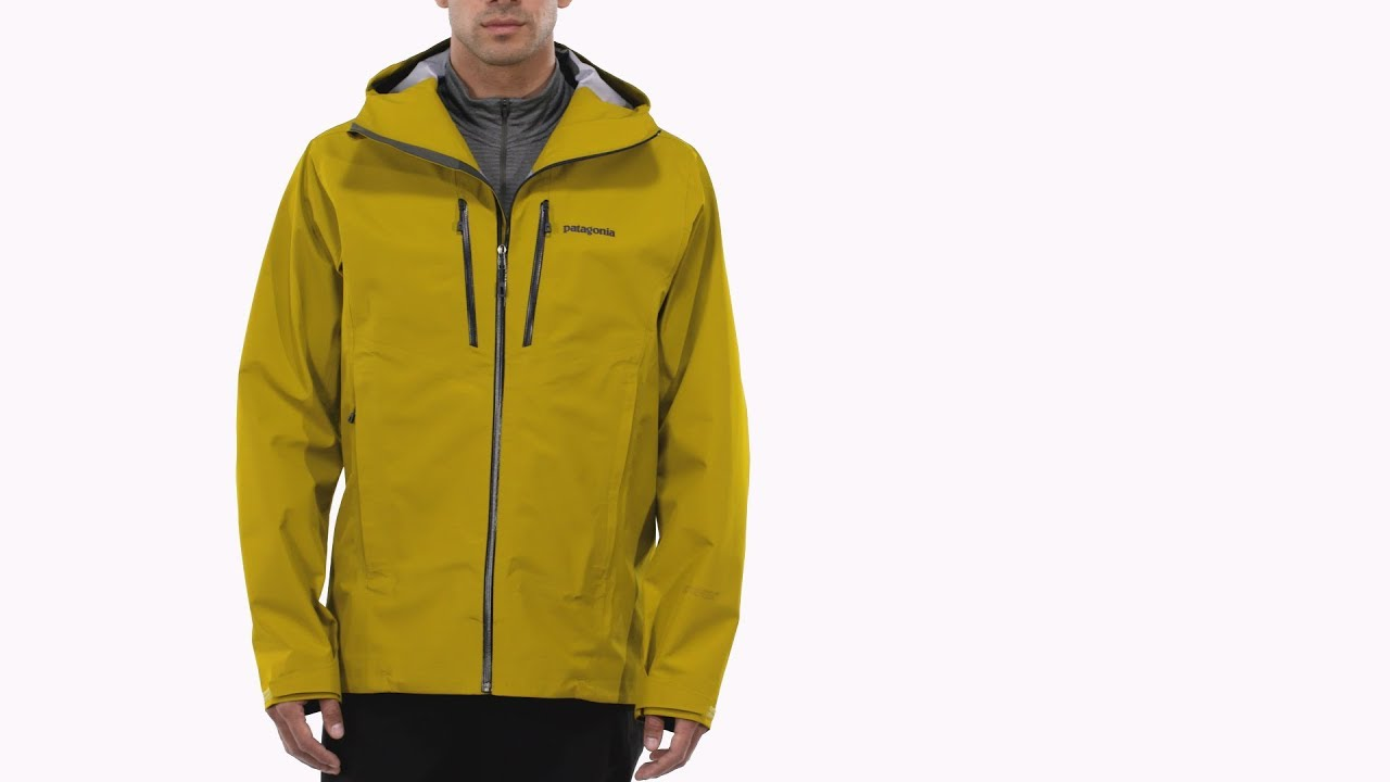 Patagonia Men's Triolet Jacket for Alpine Climbing