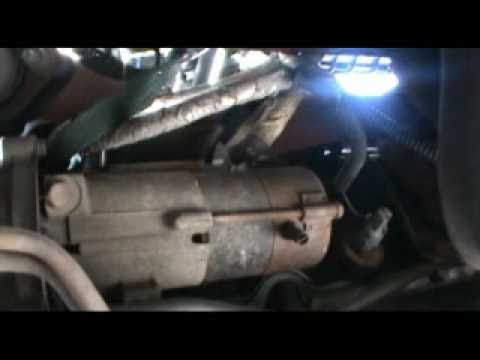 CHEVY TAHOE STARTER REPLACEMENT - YouTube