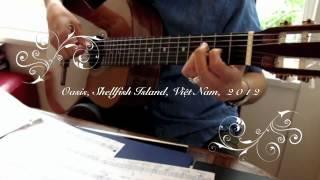 Bến Nước Cù Lao. Thơ: Hồ Thanh Nhã. Nhạc: Hào Quốc. Guitare Boléro