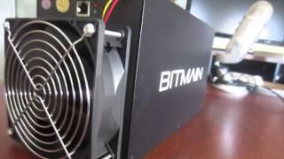 Bitmain Antminer S3 Unboxing oraz Test