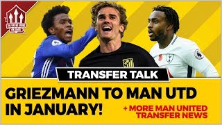 GRIEZMANN to Join MANCHESTER UNITED in January! MANCHESTER UNITED Transfer News