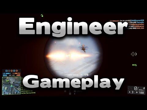 Battlefield 4 Engineer Gameplay |