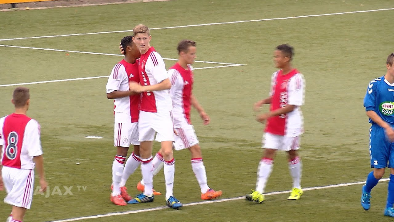Highlights Ajax B1 Vvv Helmond Sport B1 Youtube