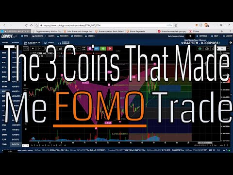 I FOMO Traded This Week. The 3 Coins That Made Me Do It.