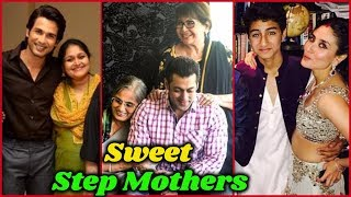 Sweet Step Mothers of Bollywood and Their Bonding with Step Kids