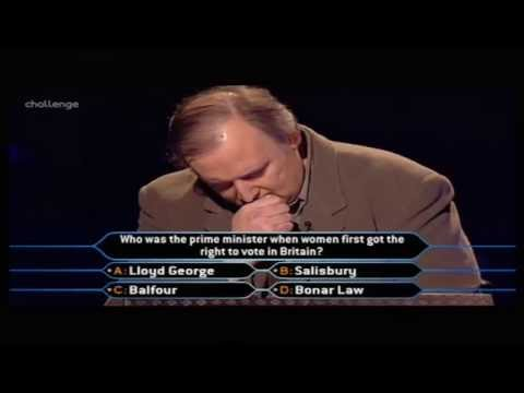 Who Wants to Be a Millionaire UK - John Sexton (2/2)