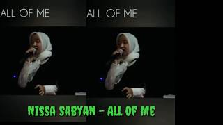 Nissa Sabyan All Of Me