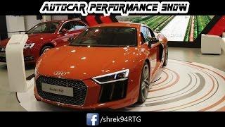 AUDI CARS in AutoCar performance SHOW 2017 BKC mumbai