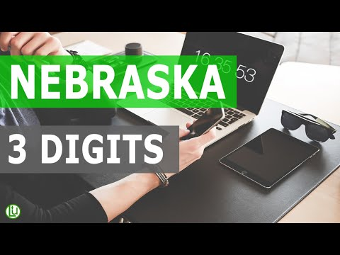 AUG 2020 - 3D LOTTERY STATISTICAL NUMBER GUIDE FOR NEBRASKA |  Strategy and Software 2020