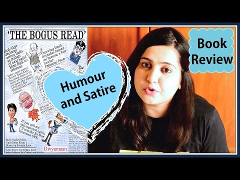 Book Review - The Bogus Read by Divyamaan (Humour and Satire)
